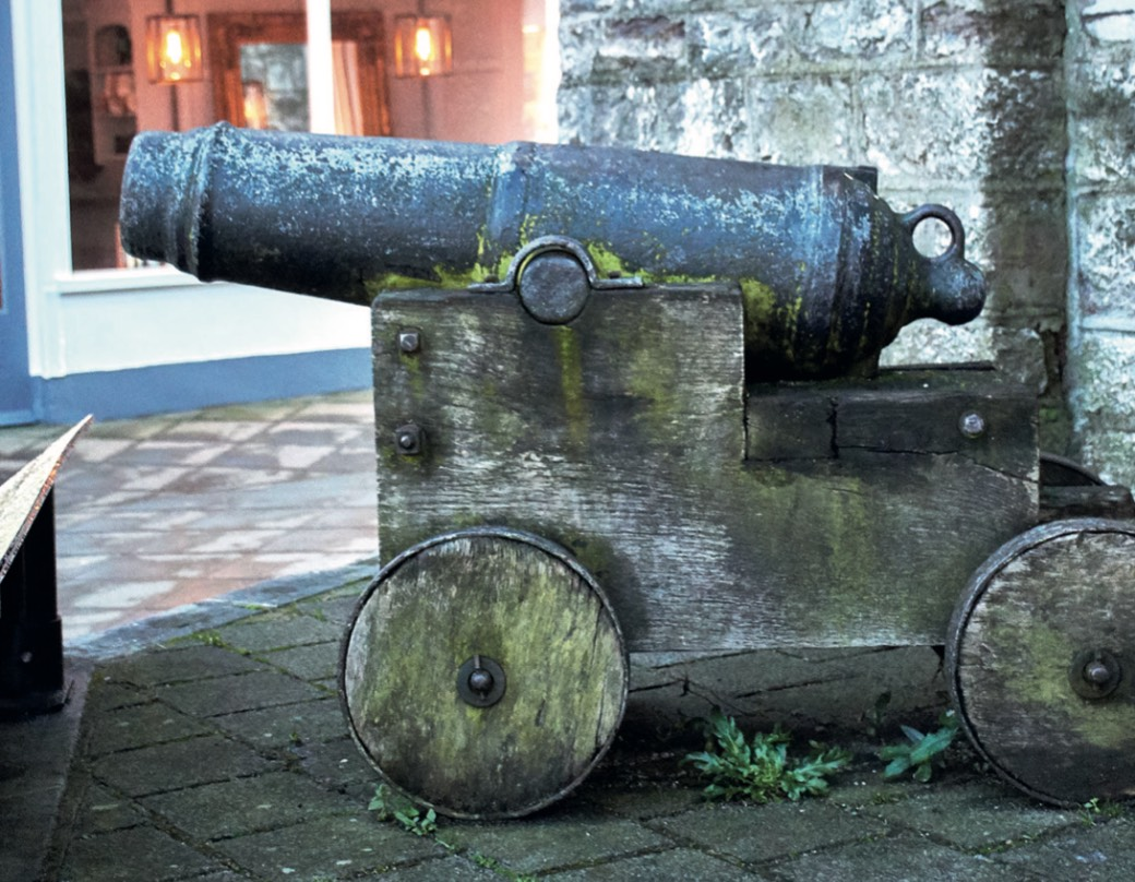 Cannon in Newton Abbot